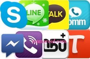 LINE、Skype、comm、カカオトーク…スマホ無料通話アプリ比較と使い分け