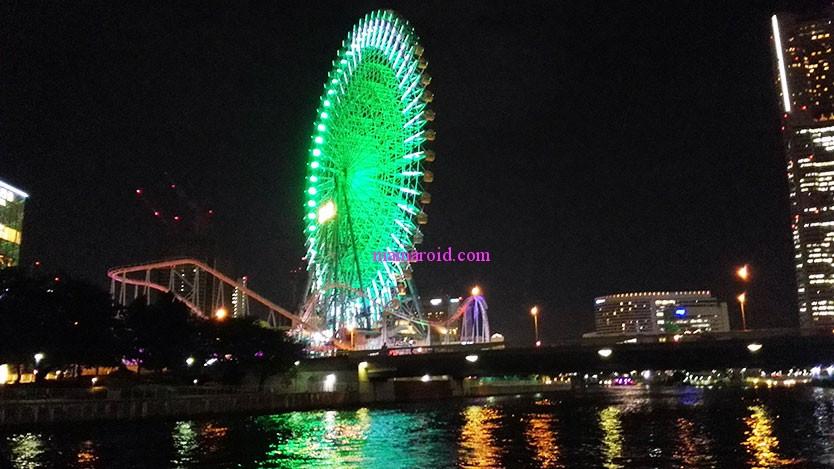 京浜運河工場夜景コース90分クルージング。横浜と川崎を海から眺める