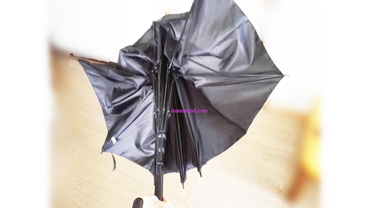 傘の骨が折れちゃった…!?イヤ、ポキッと折れるから、折れない傘は郵便局で1,080円